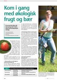 Kom i gang med økologisk frugt og bær - GartneriRådgivningen