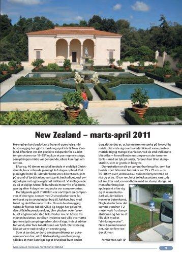 New Zealand – marts-april 2011 - Dansk Autocamper Forening