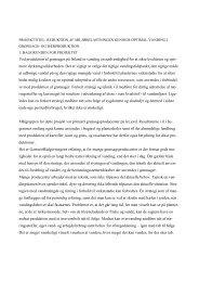 Læs rapporten her - GartneriRådgivningen