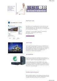 Sida 1 av 2 2011-01-16 - Datiq