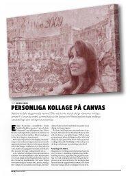 Personliga kollage På canvas - Kamera & Bild