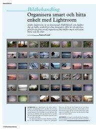 Bildbehandling - Kamera & Bild