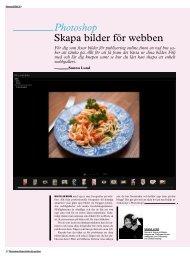Photoshop Skapa bilder för webben - Kamera & Bild