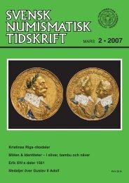 SNT 2 • 2007 - Svenska Numismatiska Föreningen