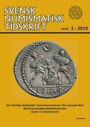 APRIL 3 • 2010 - Svenska Numismatiska Föreningen