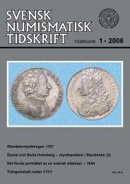 FEBRUARI 1 • 2006 - Svenska Numismatiska Föreningen