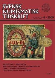 8 december 2009.indd - Svenska Numismatiska Föreningen