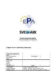 Bedömningsunderlag ESPA.pdf - Svepark