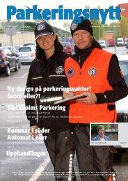 Ny design på parkeringsvakter! Stockholms Parkering ... - Svepark