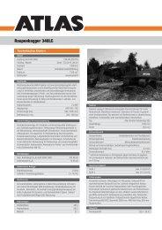Raupenbagger 340LC - ATLAS Maschinen Gmbh