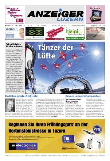 Anzeiger Luzern, Ausgabe 13, 3. April 2013