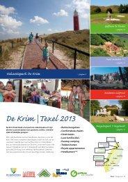 Brochure - De Krim Texel