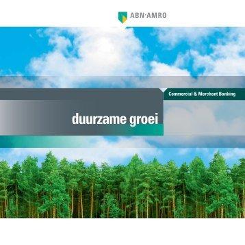 duurzame groei - GreenFox