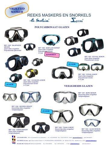 Rubberen masker