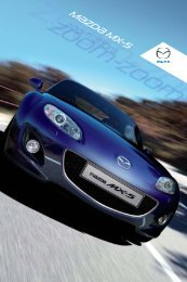 Download Mazda MX-5 Brochure