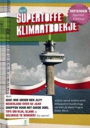 Brochure Het supertoffe klimaatboekje speciale Rotterdam editie