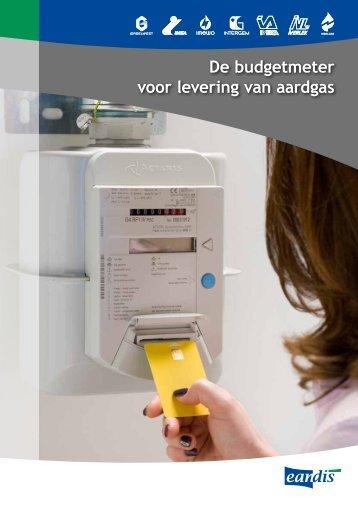 Brochure budgetmeter aardgas - Eandis