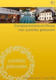 VEA - Energieprestatiecertificaat voor publieke gebouwen - Eandis