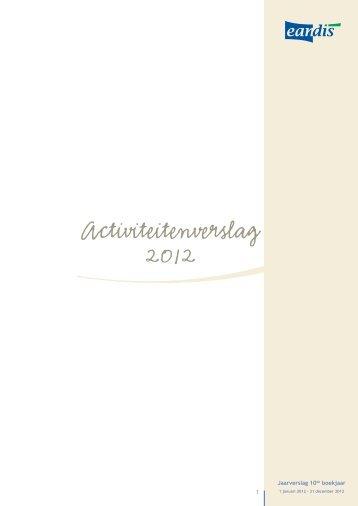 Activiteitenverslag 2012 - Eandis