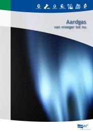 Aardgas vroeger en nu - Eandis