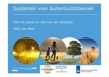 Systemen voor buitenluchtaanzuiging - Energiek2020