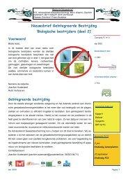nieuwsbrief 30 biologische bestrijders deel 2 - JA en RV - PCS