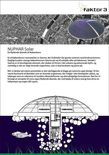 NUPHAR Solar - Faktor 3