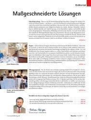 Maßgeschneiderte Lösungen - beim SN-Fachpresse Verlag
