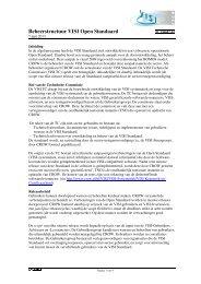 Beheerstructuur VISI Open Standaard - Crow