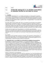 Artikel 06c gedrag bij in- en uitrijden werkvakken en tijdelijke ... - Crow