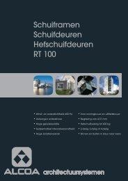 Schuiframen Schuifdeuren Hefschuifdeuren RT 100 - Stedebouw en ...