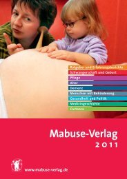 Bestell- coupon - Mabuse Verlag