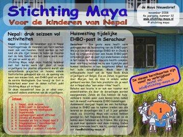 november - Stichting Maya