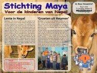 Maart - Stichting Maya