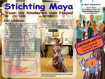Herfst - Stichting Maya