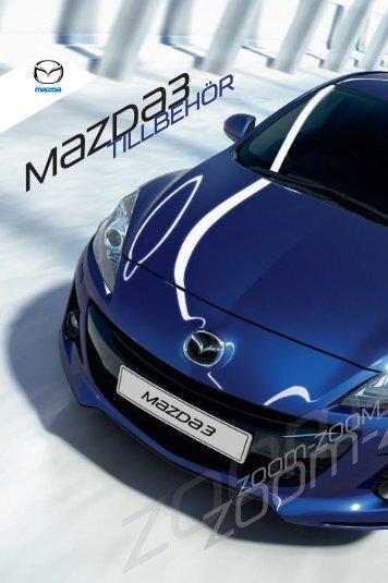 Ladda ner Mazda3-tillbehörsbroschyren