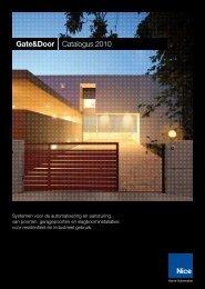 N ice Nice to m Gate&Door Catalogus 2010 - Nice SpA