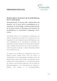 Entwurf Pressemitteilung arvato print CEE_ 141210 - rtv media group