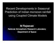Presentation of M Rajeevan