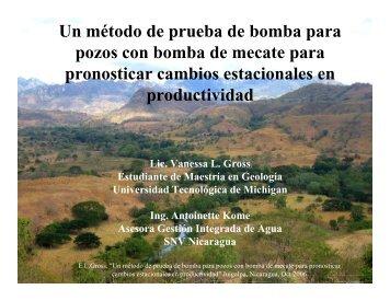 Un método de prueba de bomba para pozos con bomba de mecate ...