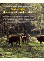 Veld en Beek: directe afzet zuivel en vlees - Vwg.net