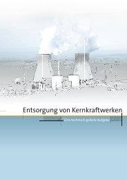 Entsorgung von Kernkraftwerken - VGB PowerTech