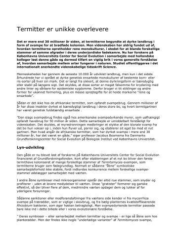 Læs pressemeddelse her - Danmarks Grundforskningsfond