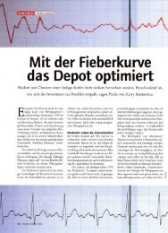 Mit der Fieberkurve das Depot opti miert - atacap.com