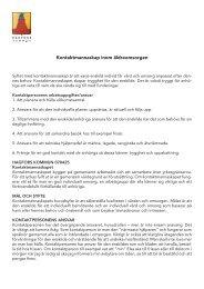 Uppdragsbeskrivning för kontaktperson inom äldreomsorgen - Hagfors