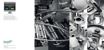 Precious industry - Verband Metallverpackungen