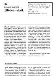 Elektronisk version af artikel i Peter Larsen og Bent Fausing(red ...