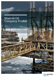 Maersk Oil Company Profile
