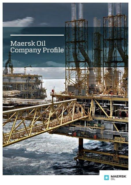 Maersk Oil Company Profile