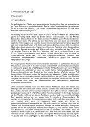 5. Weltwoche (CH), 23.4.08: China erwacht Von Georg Blume Die ...